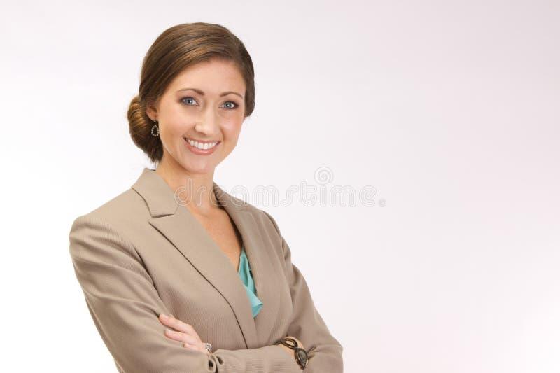 Erfolgreiche Unternehmensfrau stockbild