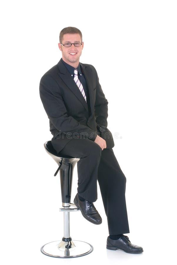 Erfolgreicher Geschäftsmann stockfotografie