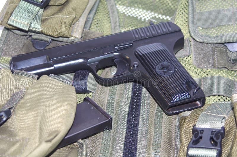 Erfolgreiches Baumuster der sowjetischen Armeehandgewehr TT (Beispiel von 1943) stockfoto