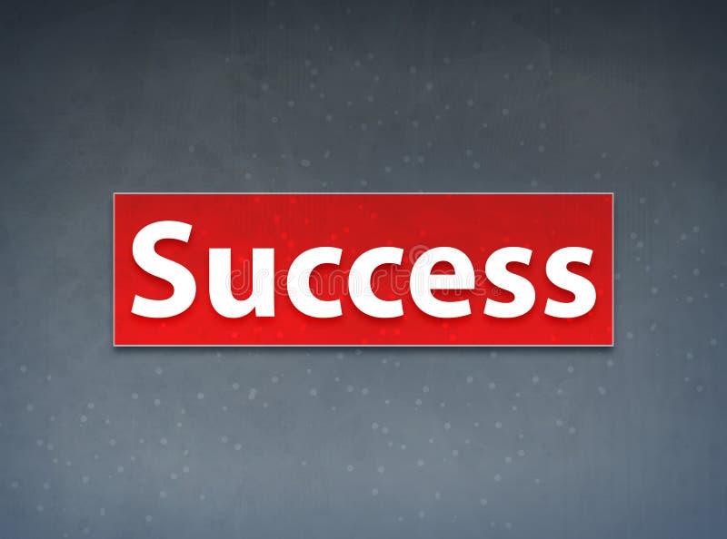 Erfolgs-roter Fahnen-Zusammenfassungs-Hintergrund lizenzfreie abbildung