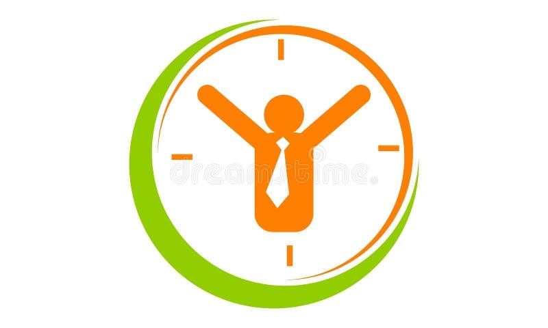 Erfolgs-Zeit-Management lizenzfreie abbildung