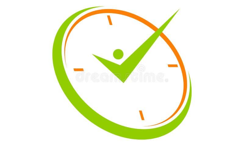 Erfolgs-Zeit-Management vektor abbildung