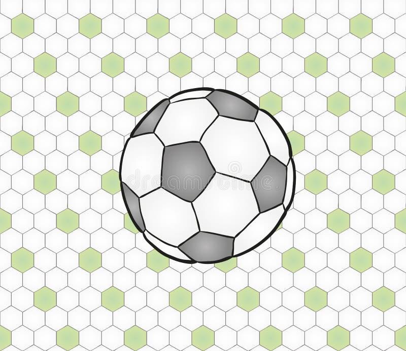 Erfordernis des Fußballs ball lizenzfreie abbildung