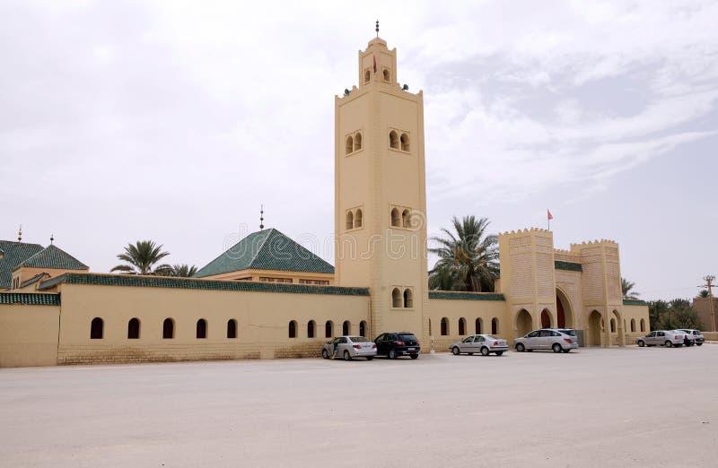 Erfoud清真寺  免版税图库摄影