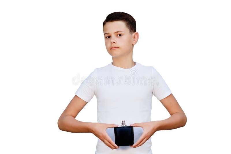 Erfreuter junger Mann lizenzfreie stockfotografie