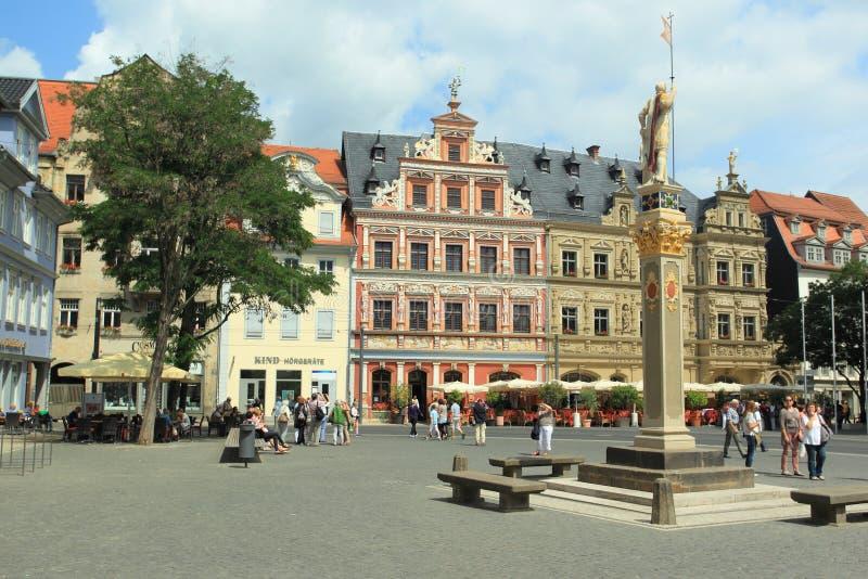 Erfurt arkivfoton