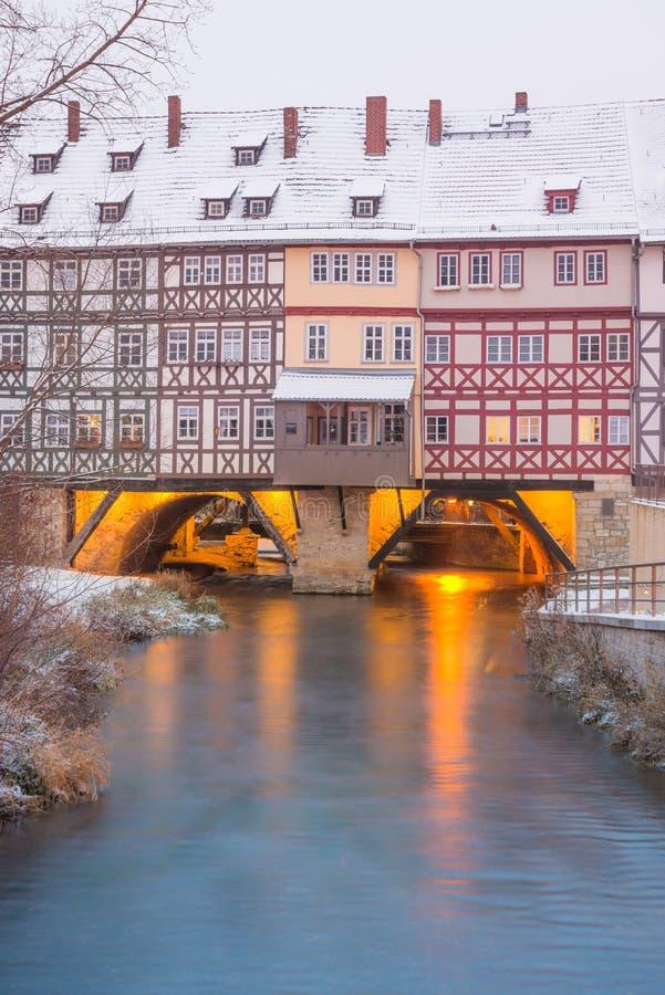 Erfurt - Alemania imagen de archivo