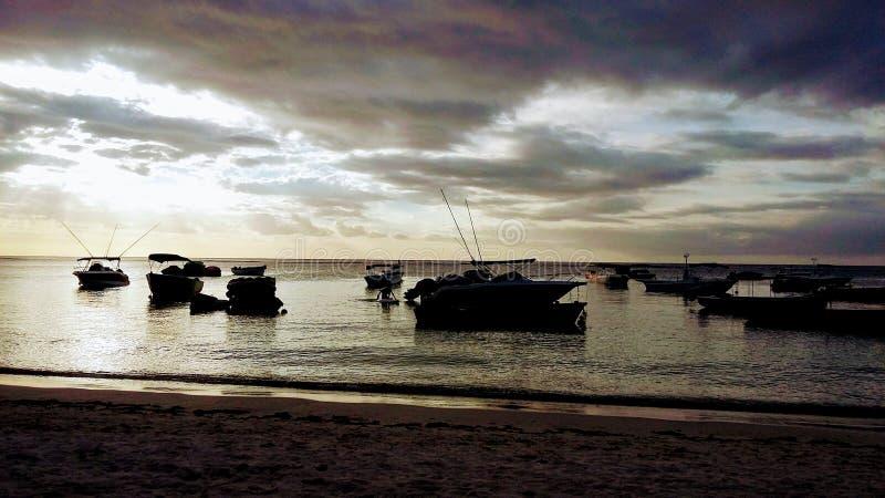 Ergens in de Indische Oceaan stock foto's