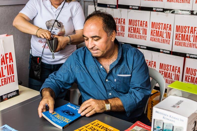 Ergun Poyraz na semana turca da apreciação da literatura fotos de stock royalty free