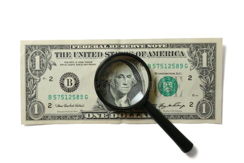 Erhöhen Sie Geld stockfoto