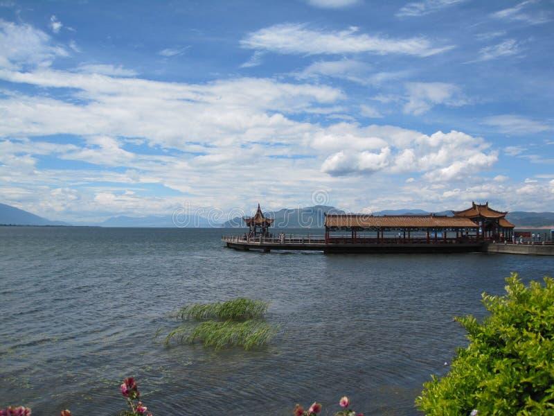 erhai湖 图库摄影