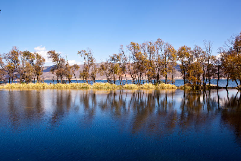Erhai Lake royalty free stock photo