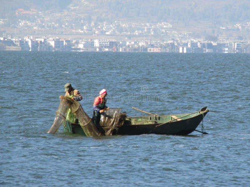 Erhai lake stock photos