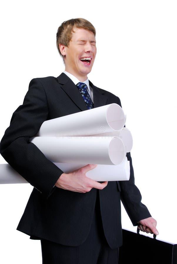 Erhalten des Jobs lizenzfreie stockfotos
