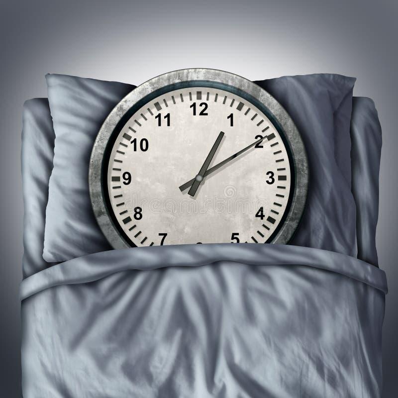 Erhalten genügenden Schlafes vektor abbildung