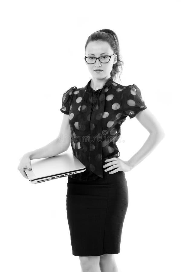 Erhalten Sie spezifisch Frau, die nach neuem Job sucht Stunden-Manager Einer von ihnen wurde hysterisch ( Finden Sie Art der Posi lizenzfreie stockbilder