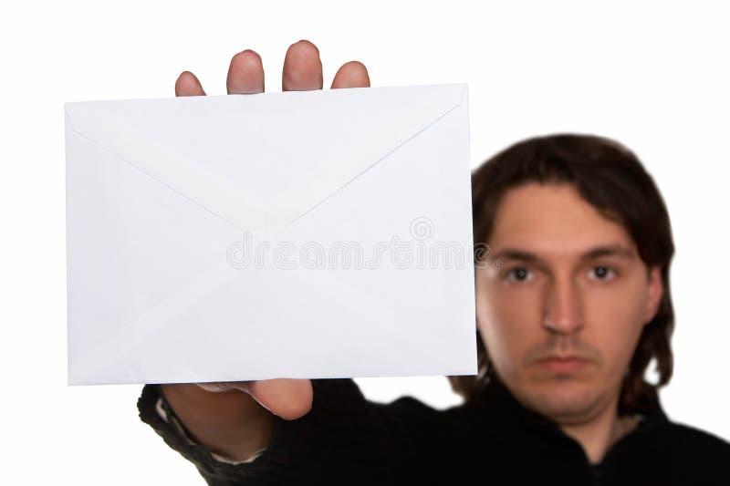 Erhaltene Post lizenzfreie stockfotografie