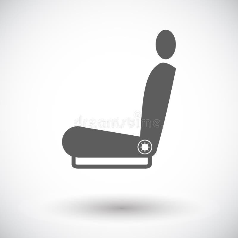 Download Erhitzter Sitz der Ikone vektor abbildung. Illustration von ausrüstung - 90231842