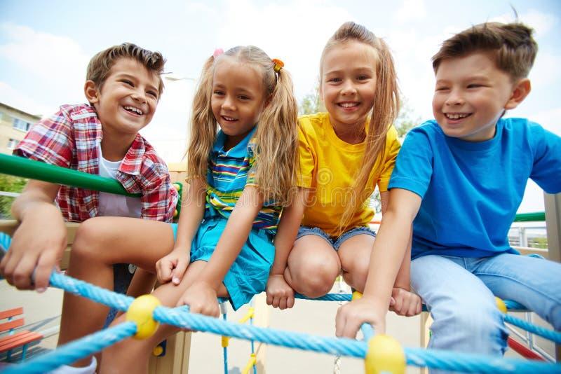 Erholung für Kinder lizenzfreies stockbild