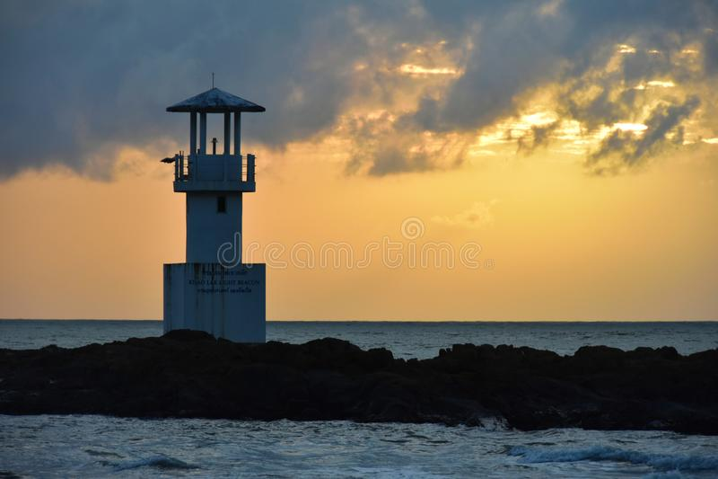 Erholungsort Khao Lak Leuchtturm-Khao Lak Thailand Centara Seaview lizenzfreies stockfoto