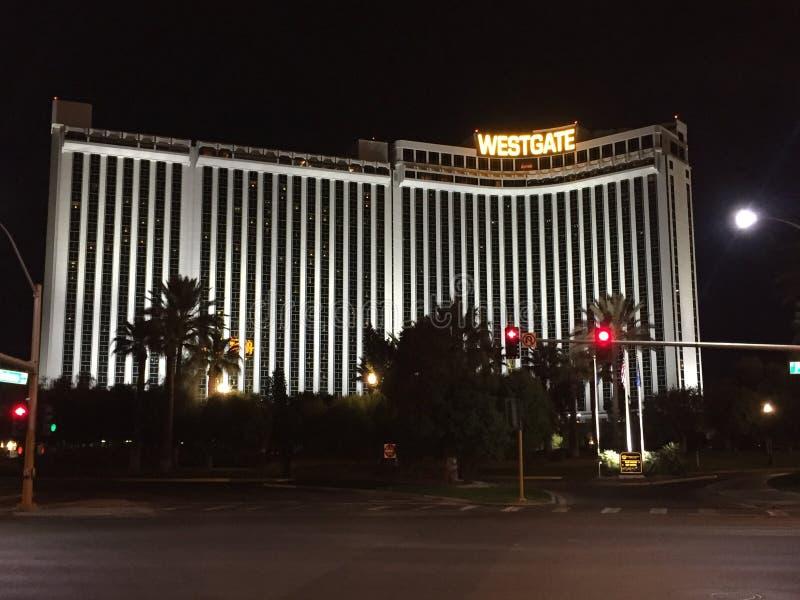 Erholungsort u. Kasino Westgate Las Vegas stockbilder