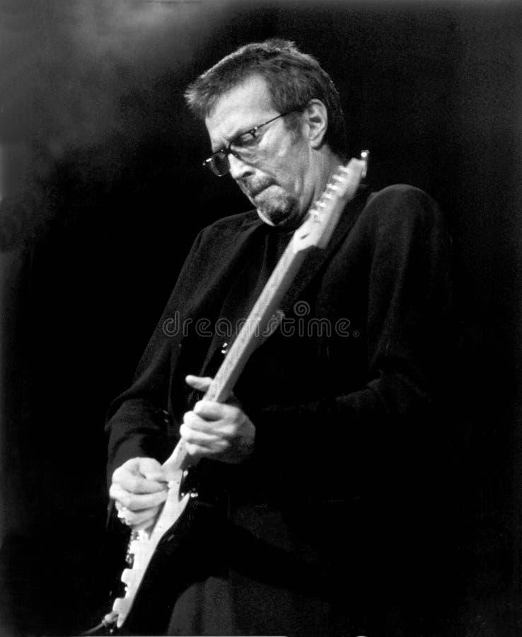 Eric Clapton, Boston ogród 1994 Erick L - johnston zdjęcie royalty free