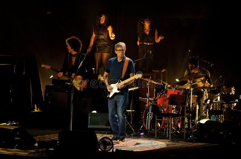 Eric Clapton przy Królewskim Albert Hall Maj 2013 obrazy stock