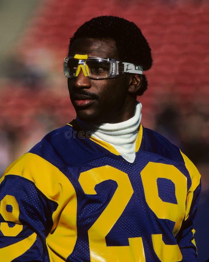 Eric Dickerson Los Angeles Rams fotos de stock royalty free