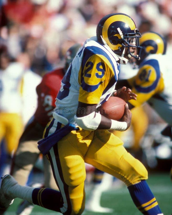 Eric Dickerson Los Angeles Rams fotos de stock