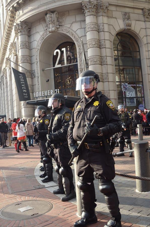 Eric Garner Protest In San Francisco fotografia de stock