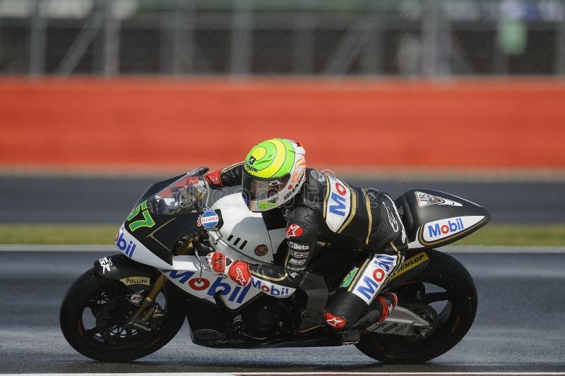 Download Eric granado, moto 2, 2012 editorial stock photo. Image of circuit - 25787998