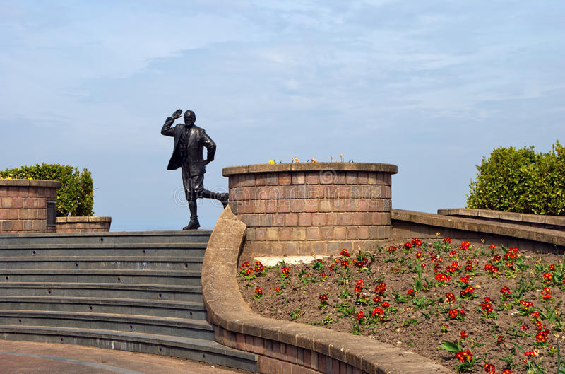 Download Eric Morecambe statue stock photo. Image of lancashire - 14276124