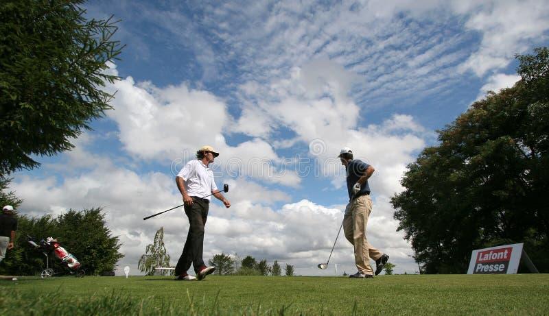 Download Eric Moreul Bij Het Golf Prevens Trpohee 2009 Redactionele Afbeelding - Afbeelding bestaande uit klap, aandrijving: 10777765