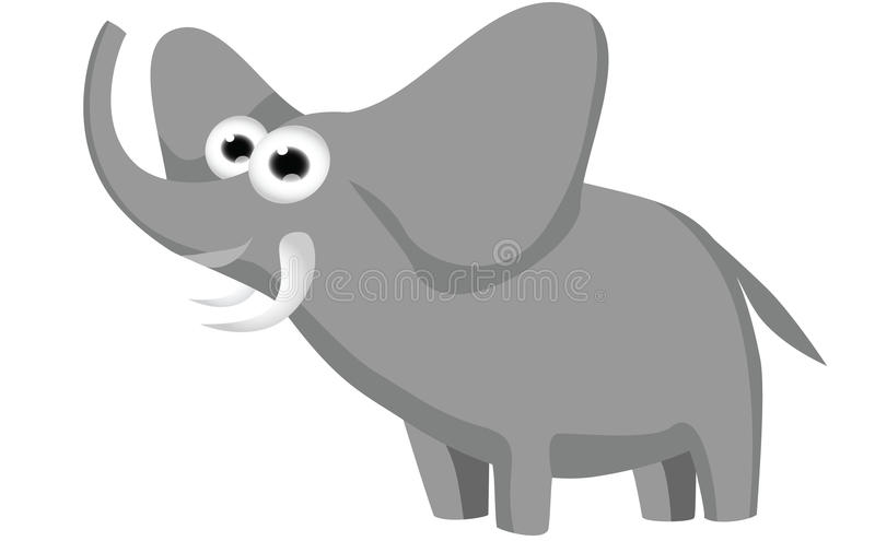 Eric - un animal de Toon ilustración del vector