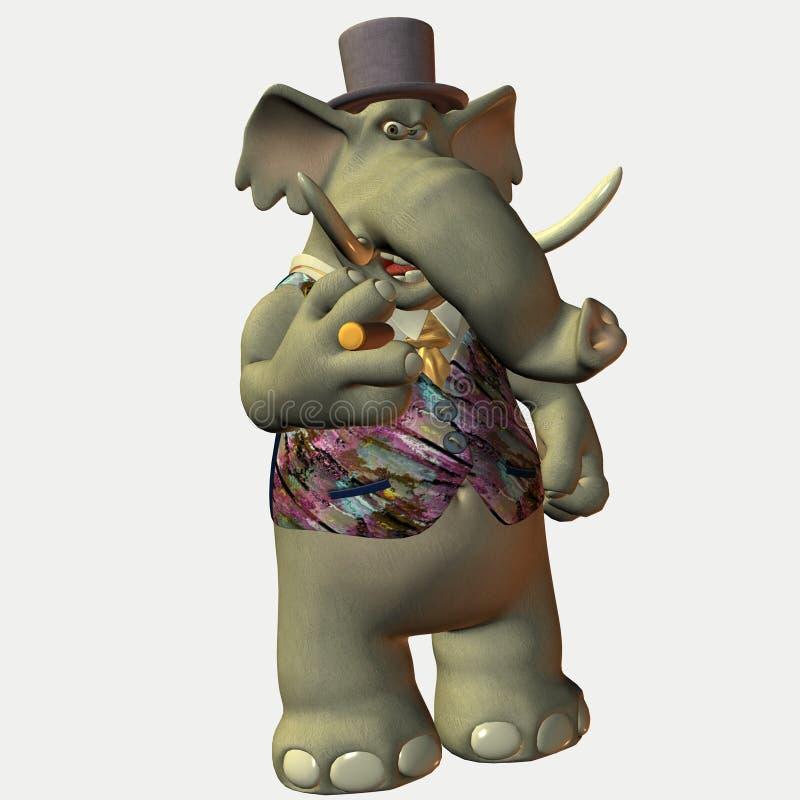 Eric - un animal de Toon illustration de vecteur