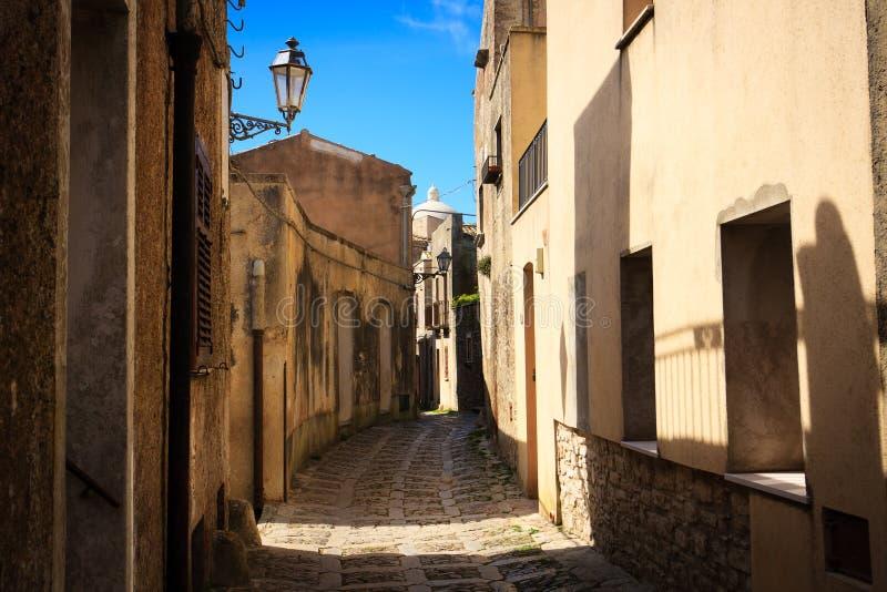 Erice,Sicily stock photo