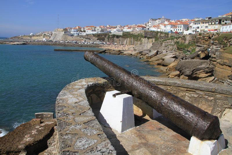 Ericeira, Portugal lizenzfreies stockbild