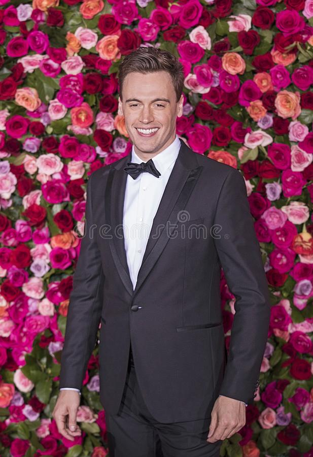 Erich Bergen a Tony Awards 2018 fotografia stock