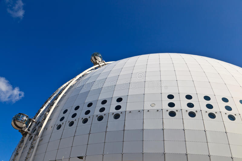 Download Ericsson Globe stock photo. Image of exterior, clouds - 26057802