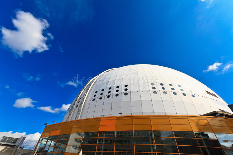 Download Ericsson Globe stock image. Image of building, football - 26175511