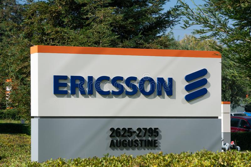 Ericsson Silicon Valley Corporate Campus stock photography