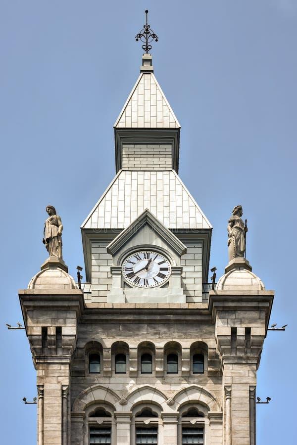 Erie County Hall - буйвол, Нью-Йорк стоковые изображения
