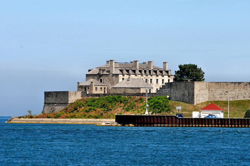 erie fort royaltyfria bilder