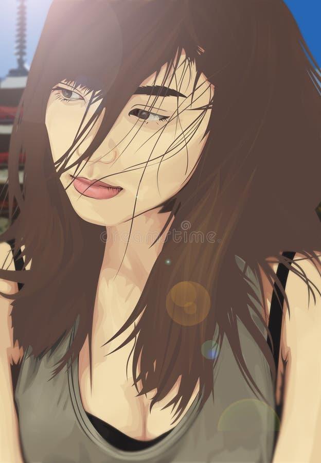 Erina Mano stock image
