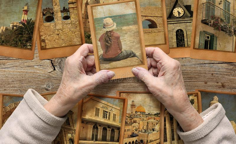 Erinnern an Israel Gedächtnis-, Leben- und Traumkonzept lizenzfreie stockfotos
