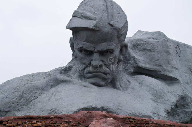 Erinnerungs-Brest-Festung lizenzfreie stockfotos