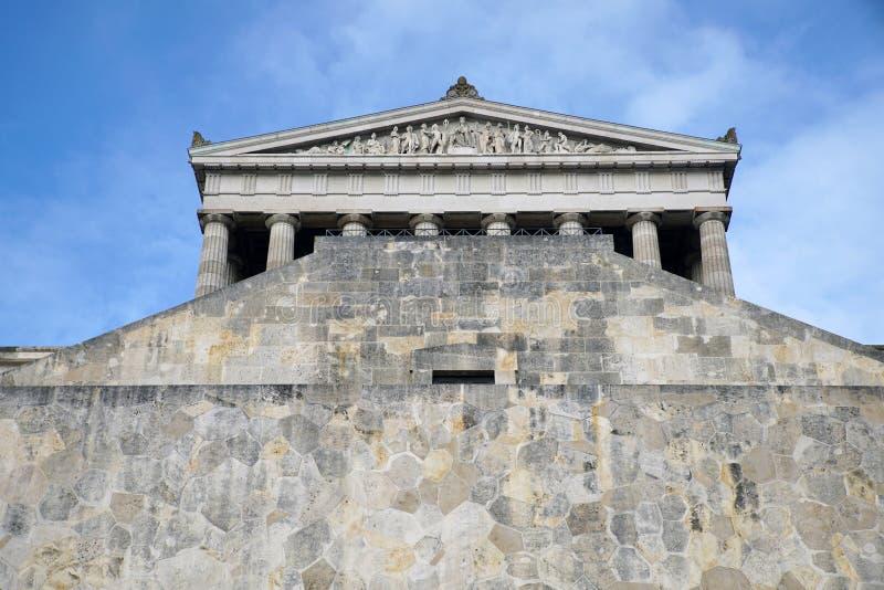 Erinnerungs-Walhalla auf den Bayern stockbilder