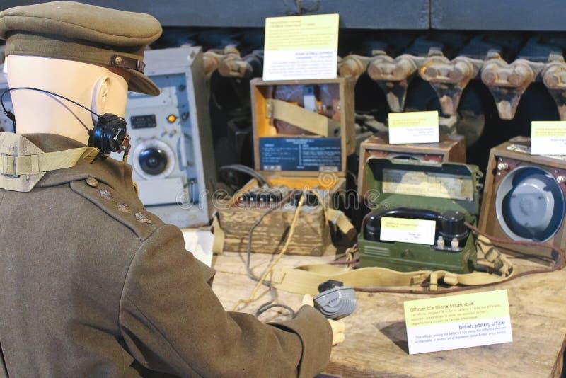 Erinnerungsmuseum des Kampfes von Normandie. lizenzfreie stockfotografie