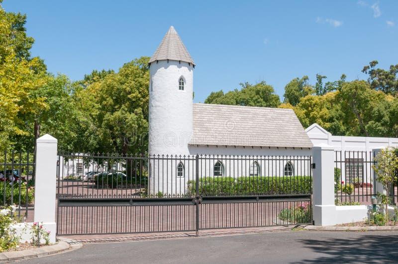 Erinvale wedding chapel stock image