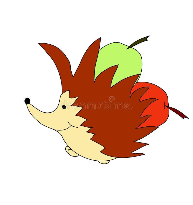 Download Erizo ilustración del vector. Ilustración de animales - 7286924